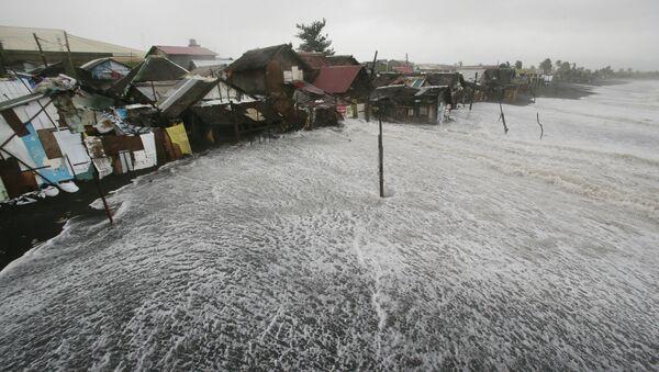 Последствия тайфуна на Филлипинах. Архивное фото