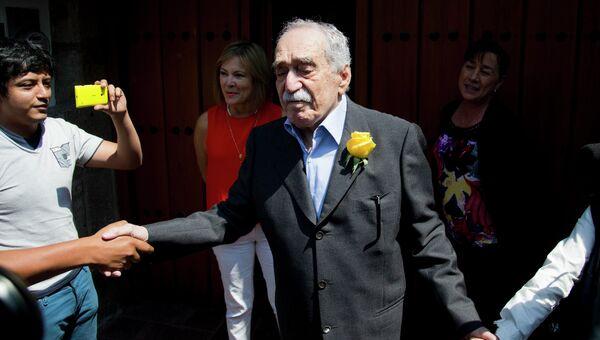 Писатель Габриель Гарсия Маркес. Архивное фото