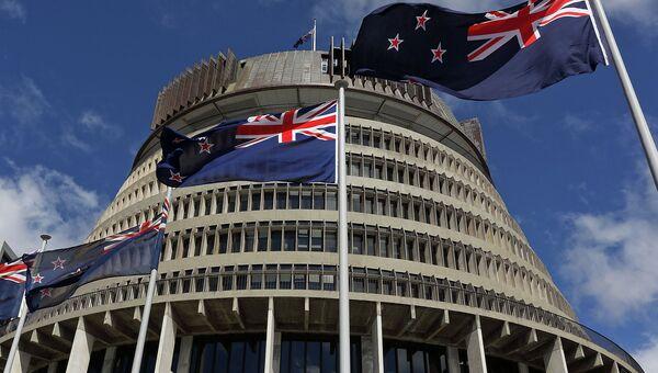 Здание парламента Новой Зеландии в Веллингтоне. Архивное фото