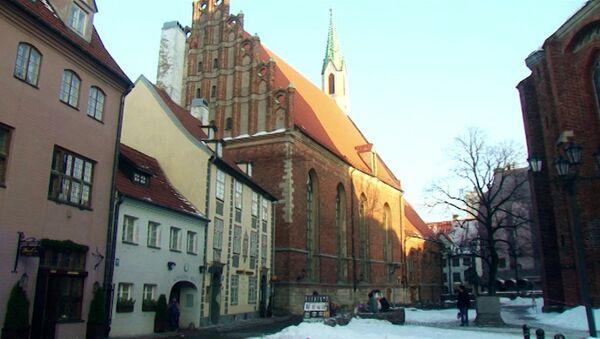 Города мира. Рига. Латвия, архивное фото.