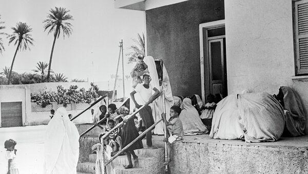 Медпункт в Триполи