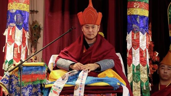 Седьмой камбы-лама Республики Тыва Байыр Шыырап, принявший имя Лопсана Чамзы.