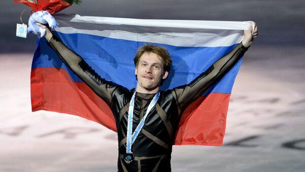Сергей Воронов (Россия), завоевавший бронзовую медаль в произольной программе