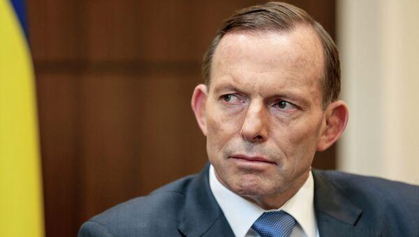 Премьер-министр Австралии Тони Эббот. Архивное фото