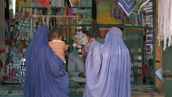 Афганский магазин в городе Джелалабаде