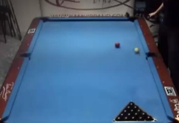 Мастер-класс игры на бильярде