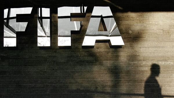 Логотип ФИФА. Архивное фото
