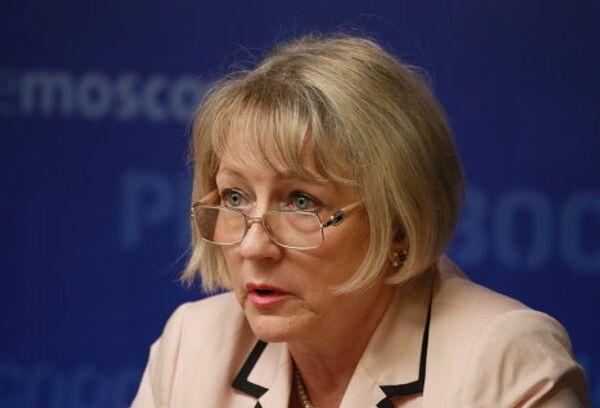Руководитель центра заместитель председателя ИППО Елена Агапова. Архивное фото