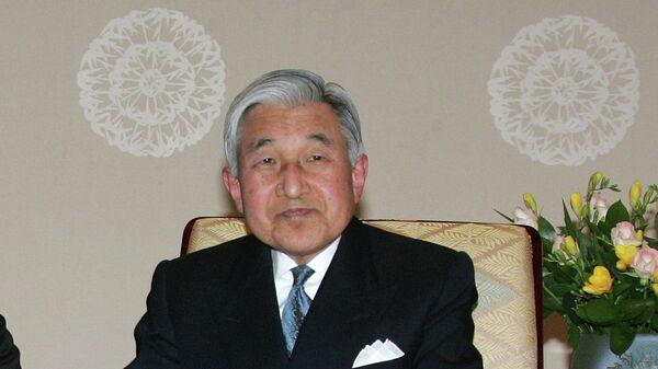 Почетный император Японии Акихито, архивное фото