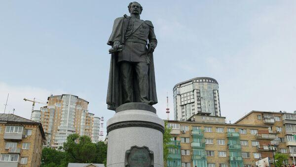 Памятник графу генерал-губернатору Восточной Сибири Николаю Николаевичу Муравьеву-Амурскому