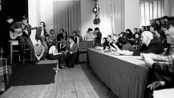 Просмотр курсового спектакля в Щепкинском училище