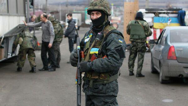 Ситуация в украинском городе Дебальцево