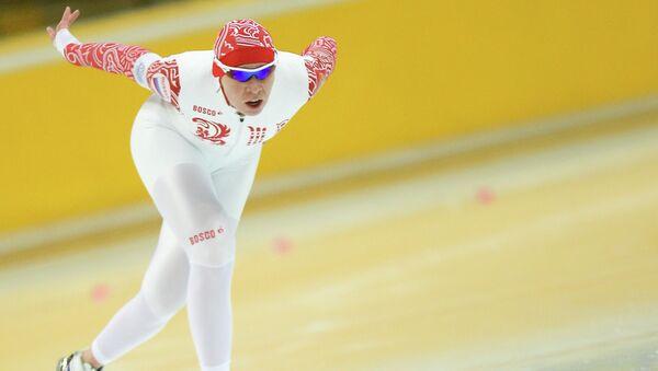 Конькобежка Юлия Скокова. Архивное фото