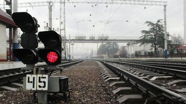 Железнодорожный вокзал Симферополя. Архивное фото