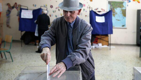 Парламентские выборы в Греции. Архивное фото