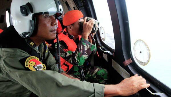 Операция по поиску упавшего самолета AirAsia