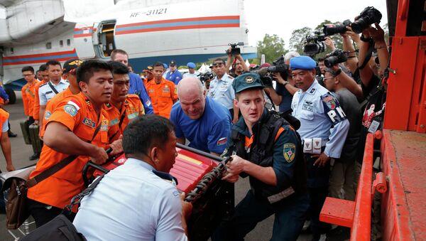 Русские спасатели и оборудование в Калимантане