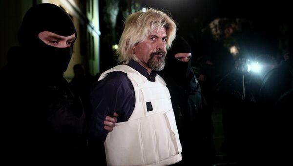 Греческий террорист Христодулос Ксирос. Архивное фото
