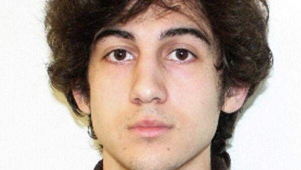 Джохар Царнаев, обвиняемый в совершении теракта в Бостоне в 2013 году.