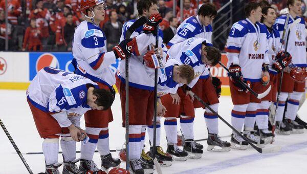 Игроки сборной России, архивное фото
