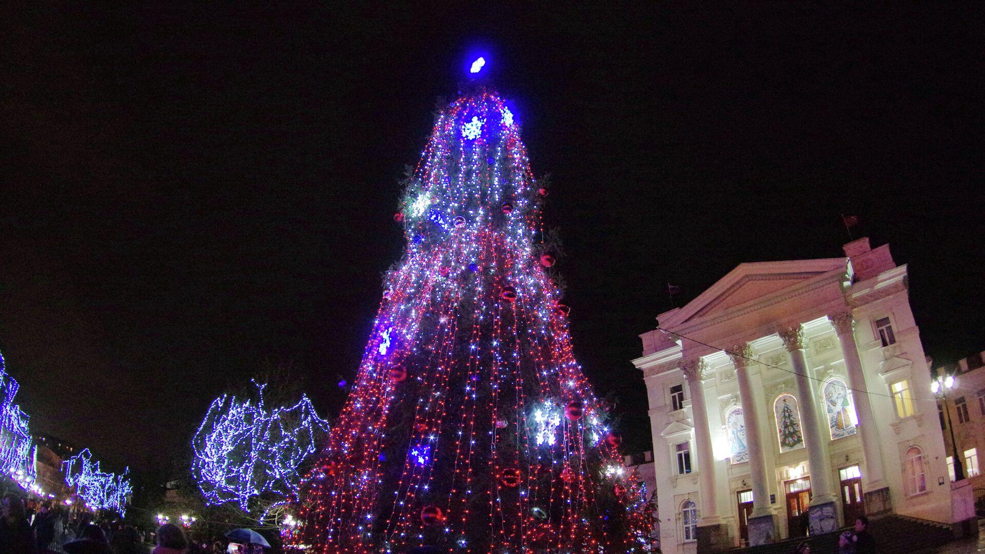 Главная городская елка в Севастополе - РИА Новости, 1920, 03.12.2020