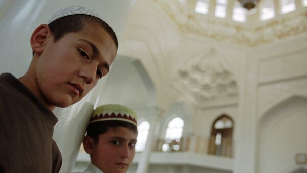 Мальчики-мусульмане. Архивное фото