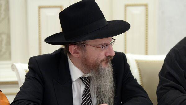 Главный раввин России Берл Лазар. Архивное фото