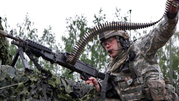 Военные учения в Литве. Архивное фото