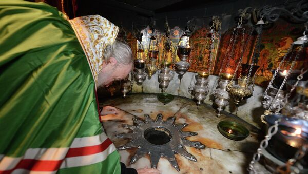 Визит патриарха Кирилла в Палестину