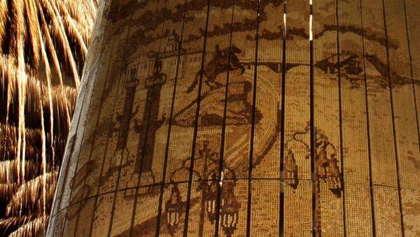 Франко-российский проект, пробковая мозаика, выиграл конкурс Книги рекордов Гиннесса