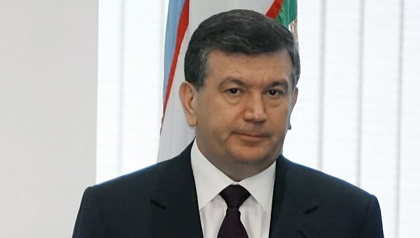 Премьер-министр Узбекистана Шавкат Мирзияев. Архивное фото