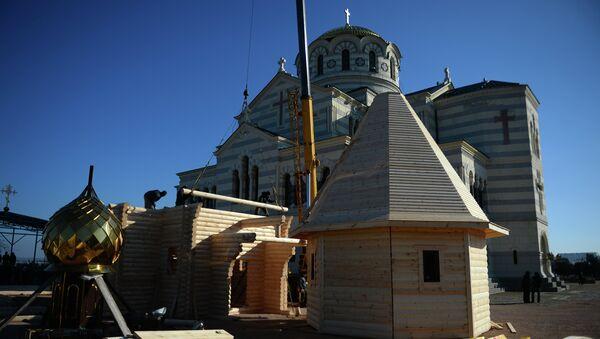 Строительство обыденного храма в Севастополе