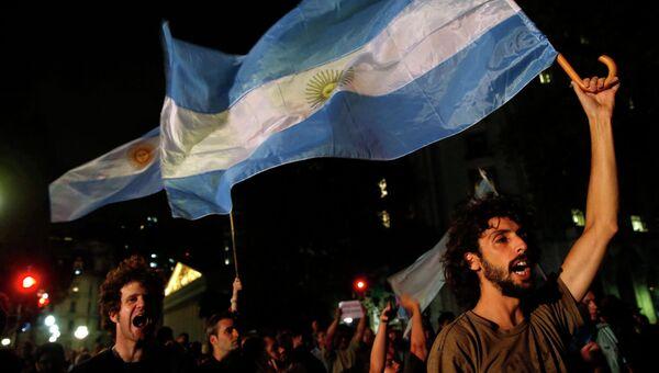 Протесты в Буэнос-Айресе в связи со смертью прокурора Альберто Нисмана, 19 января 2015