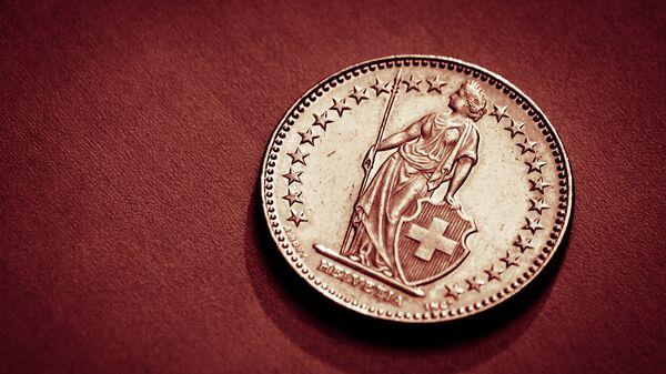 Швейцарский франк. Архивное фото