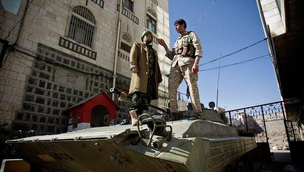 Шиитские повстанцы-хуситы в Йемене. Архивное фото
