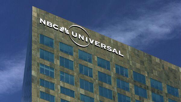 Здание штаб-квартиры NBC Universal в Лос-Анджелесе, США. Архивное фото