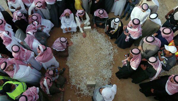Похороны короля Саудовской Аравии Абдаллы бин Абдель Азиза Аль Сауда