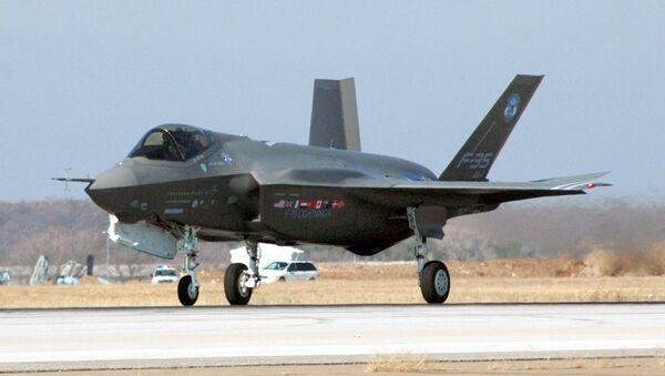 Истребитель ВВС США F-35. Архивное фото