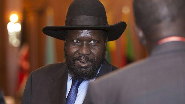 Президент Южного Судана Салва Киир. Архивное фото