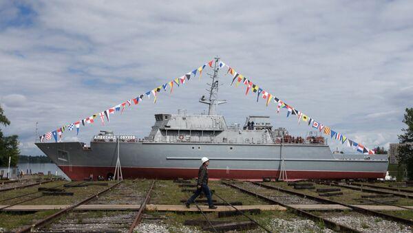 Корабль противоминной обороны проекта 12700. Архивное фото