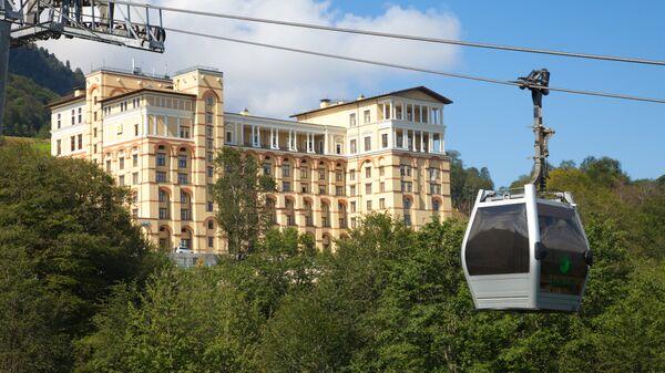 Отель на курорте Красная поляна