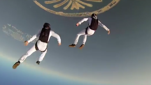 Воздушная прогулка над Дубаем