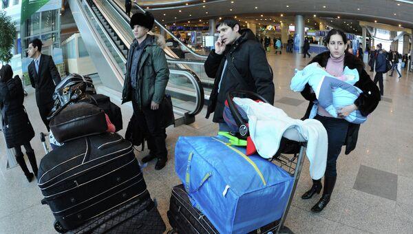 Работа московского аэропорта Домодедово