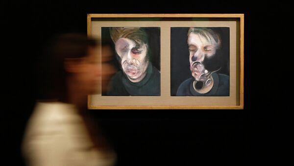 Два эскиза к автопортрету Фрэнсиса Бэкона