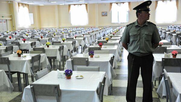 Солдатская столовая. Архивное фото