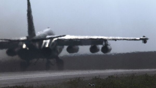 Штурмовик Су-25 Грач. Архивное фото