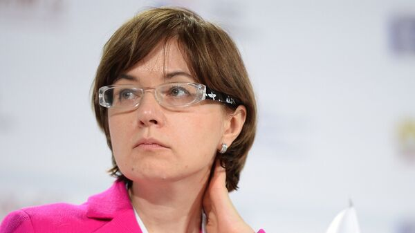 Первый заместитель председателя Центрального Банка РФ Ксения Юдаева. Архивное фото