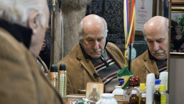 Актер Театра Российской Армии Владимир Зельдин. Архивное фото