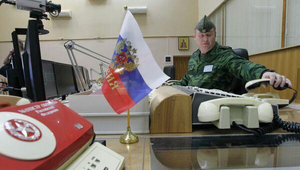Центральный командный пункт Космических войск России. Архивное фото