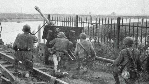 Бой за город Муданьцзян, 1945 год